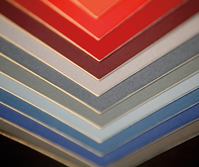mountboard colours