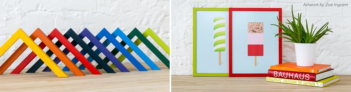 Colour Cubes Desk